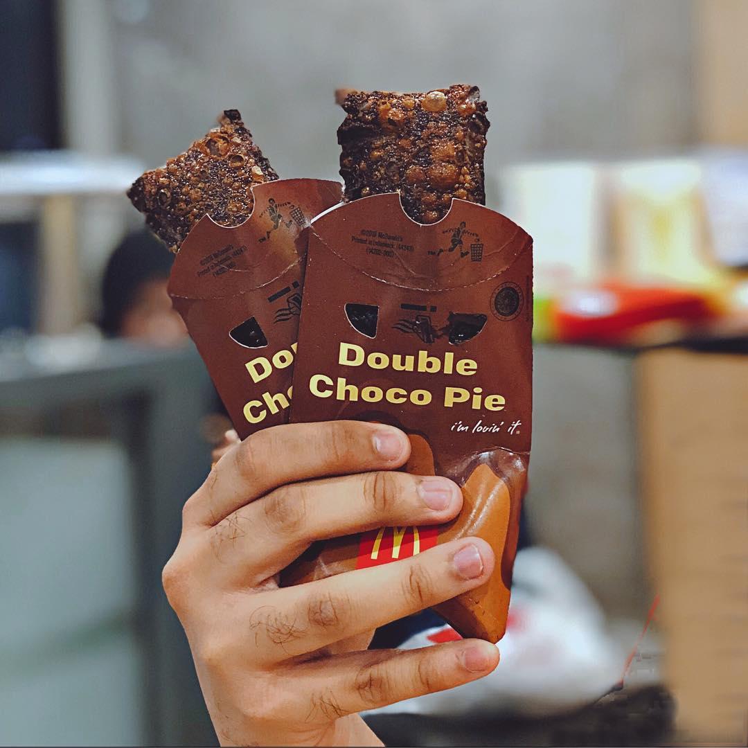 McDonald's Molten Chocolate Pie