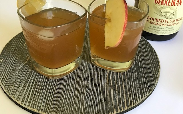 Sweet Tea Vodka with Plum Wine
