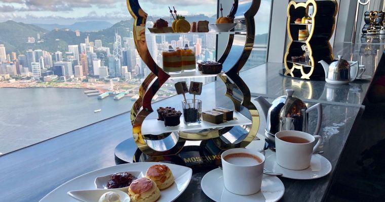 【Cafe 103】美景下的Moschino下午茶