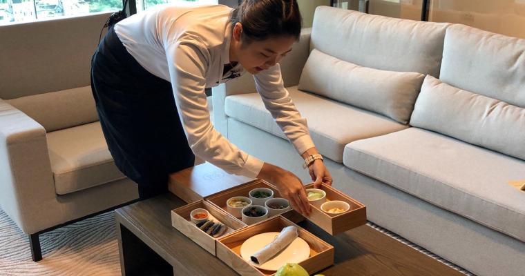 【鬈毛妹在台灣】淡水全新酒店「蘊泉庄」美食篇  管家服務早餐送上門