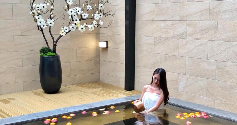 【鬈毛妹在台灣】淡水全新酒店「蘊泉庄」住宿篇  裸湯風呂洗滌身心