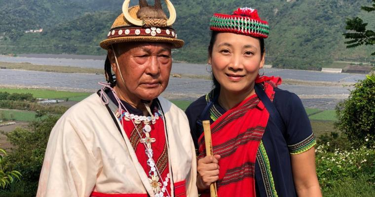 【鬈毛妹在宜蘭】台灣部落「樂水」三天兩夜遊。Day 3:參加族人祭祀儀式