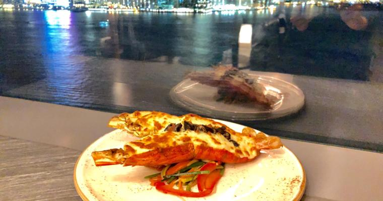 【Cruise】終於好天氣!靚景法越五道菜晚餐