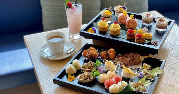 【MoMo Café】酒店東瀛風味下午茶  $358起兩位好抵食