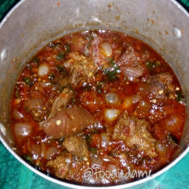 Beef Basil Soup
