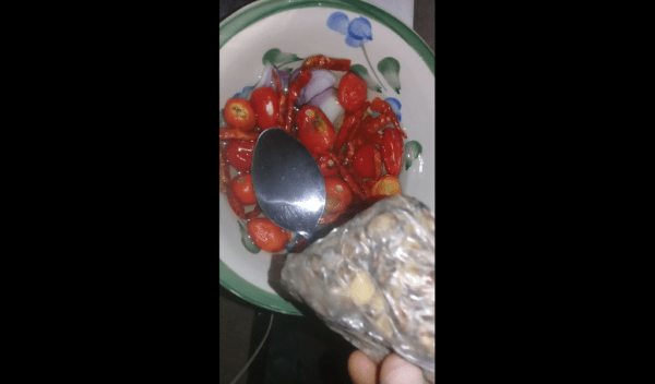 how to prepare ishapa soup pepper and locust beans- foodiedame