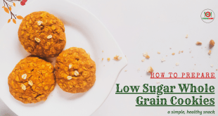How to Prepare Low Sugar Whole-grain Cookies