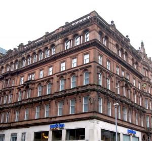 Park Inn 139 West George Street Glasgow Hotel Outside