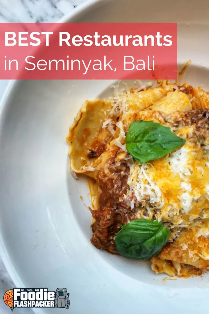 Seminyak has emerged as the foodie capital of Bali. Want to know the best foods and find the best restaurants? Click on the image to see the guide of the top places to eat in Seminyak!