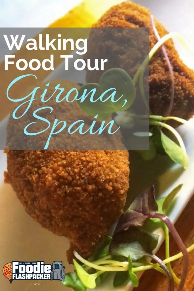 While in Costa Brava, I was based out of the city of Girona. One of the highlights of my time in the city was the walking food tour of Girona I attended with Girona Food Tours.