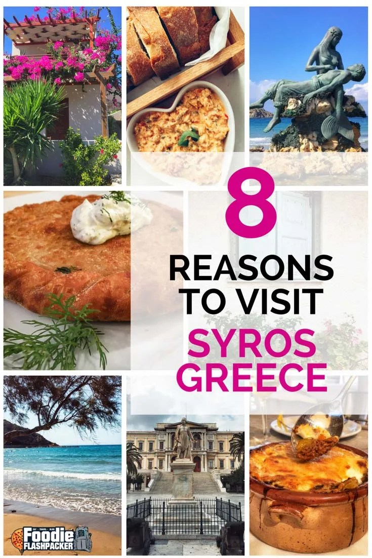 "Syros is poised to become the next ""it"" place to visit in Greece.  I recently spent three weeks exploring the island and came up with the top reasons you should start planning your own visit!"
