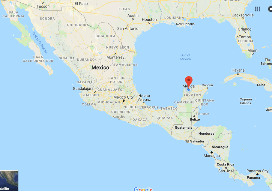 yucatan peninsula map of mexico i only came with the intention of staying a few weeks to catch up with some good friends and get caught up on work
