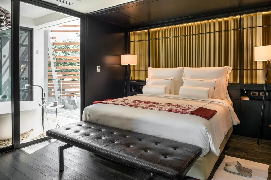 The Akyra Manor is a stylish luxury boutique hotel located in Chiang Mai, Thailand. I love the concept of the property- each suite is created around a courtyard within a room concept, which means, immediately upon entering the room, I was a view that you'll have to see for yourself.