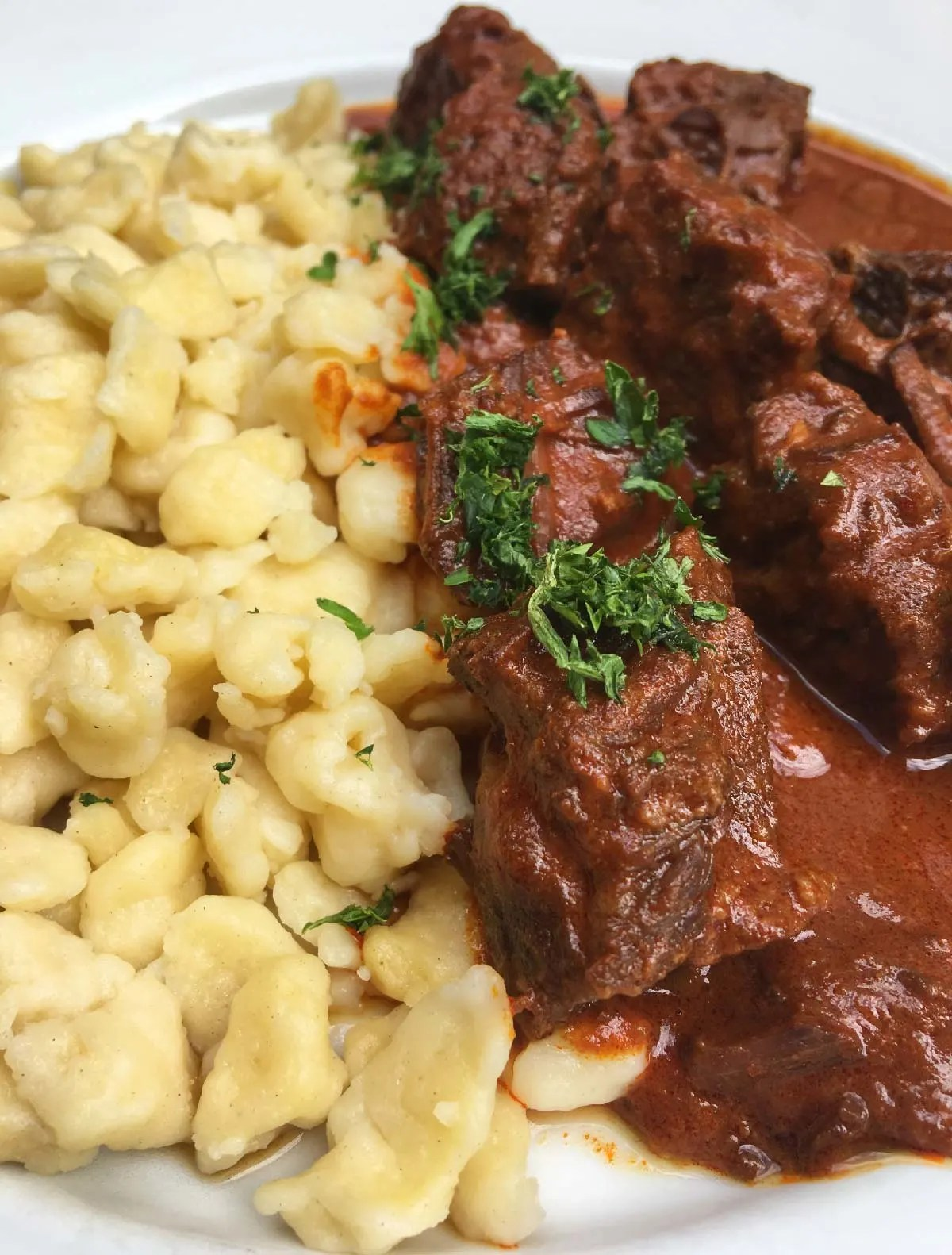 goulash - Traditional Hungarian Food