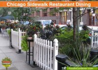 Outdoor Dining in Downtown Chicago | The Foodie Gardener