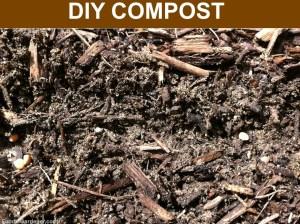 DIY compost made by Foodie Gardener