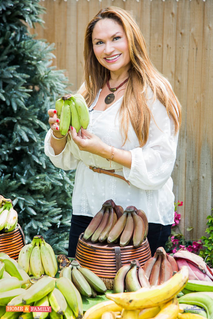 garden designer expert shirley bovshow teaches how to grow bananas on home and family show hallmark channel