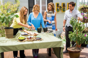 foodie gardener shirley bovshow teaches how to plant fig trees in a container on home and family show