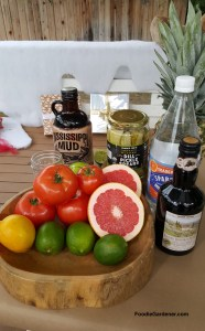sour-acidic food-lemons-grapefruit-tomatoes-limes-dill-pickles-sparkling-water-balsamic-vinegar-foodie-gardener-blog