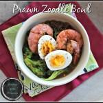 Prawn zoodle bowls