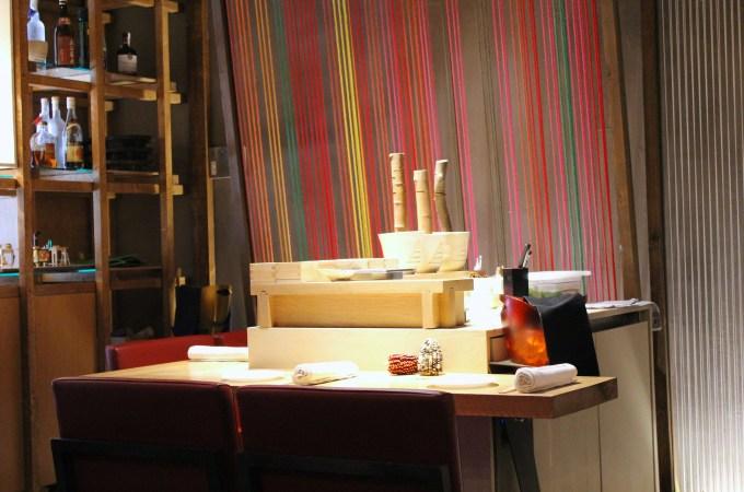 "The ""loom"" interior at Pakta"