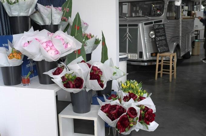 Pop up flower shop Barcelona