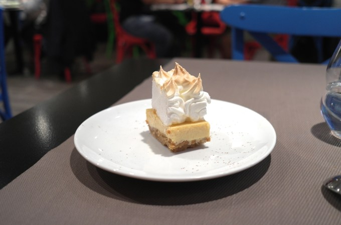 Lemon meringue pie at Ceviche 103