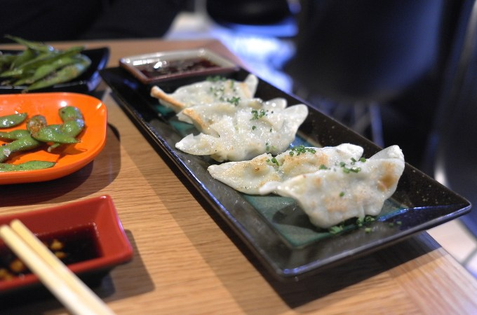 Gyoza at Nakashita