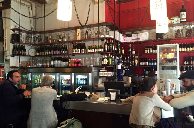 The bar at mosquito asian restaurant barcelona
