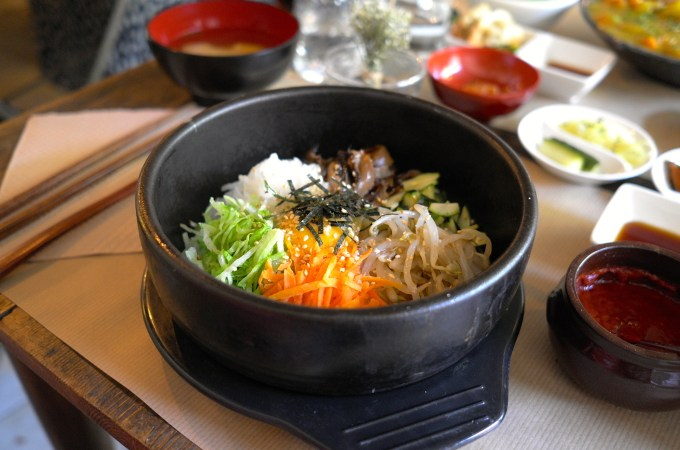 Bibimbap at Koryo Korean