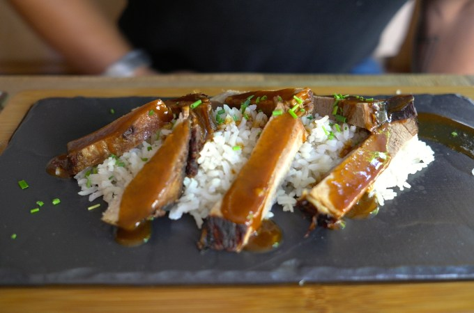 Flank steak at Macondo