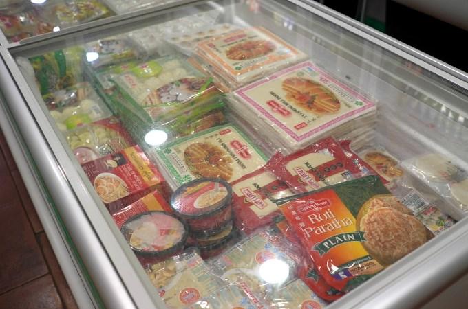 Frozen goods at Dong Fang