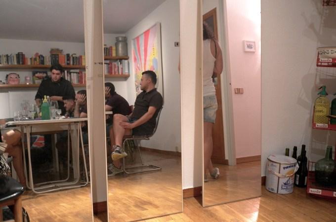 Mirrors at Felipe's flat