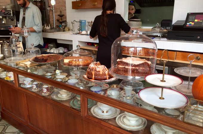 The cakes on display at Ugot