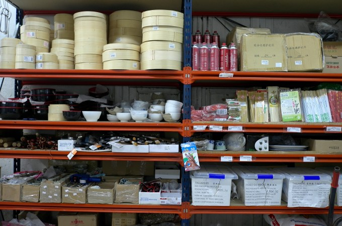 Kitchen wares at Honesto supermarket