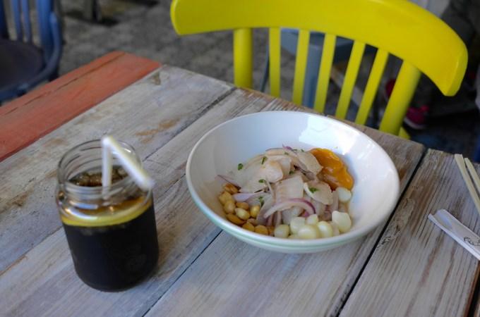 Ceviche at Toma-Ya