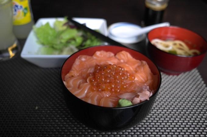 Cuina d'Uribou Japanese - salmon bowl