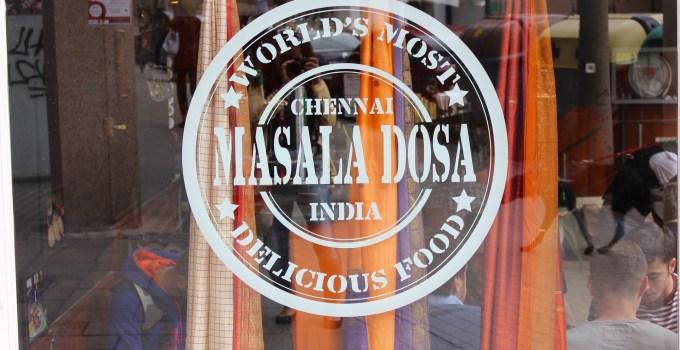 Chennai Masala Dosa, Indian Food, Les Corts