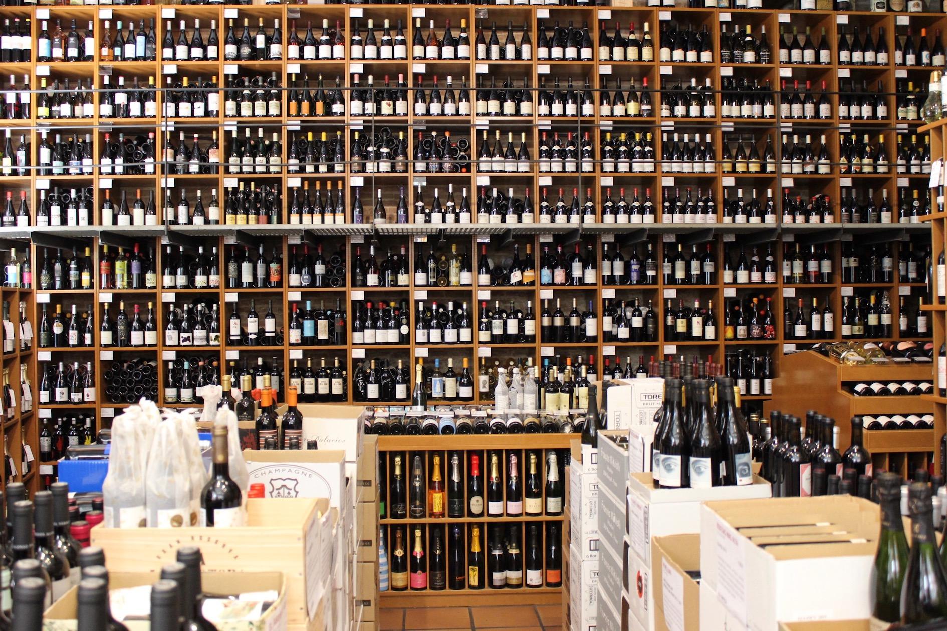 The extraordinary wine collection at Vila Viniteca