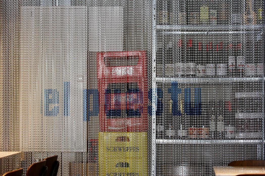 Chain curtain at El Puestu Barcelona