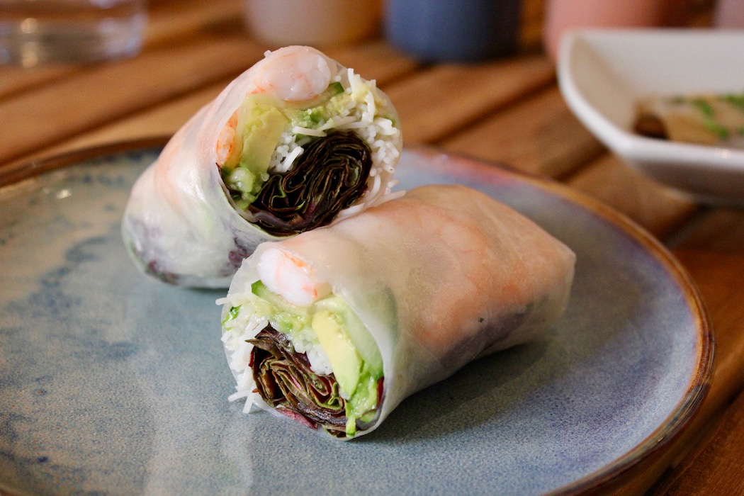 One of the rolls at Pandan Barcelona