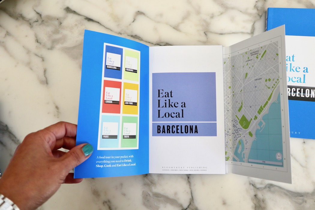 The 1st page of Barcelona Eat Like a Local