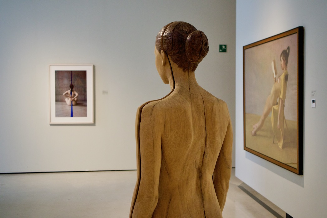 Room dedicated to the female form at Can Framis
