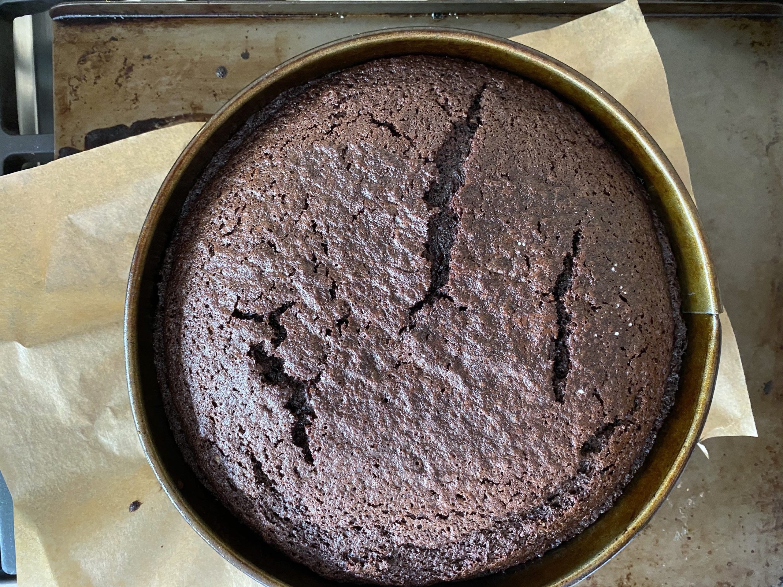 Chocolate Guinness Cake Baked