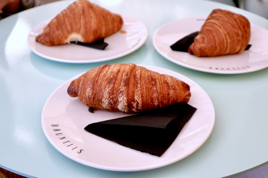 Croissants at Brunells