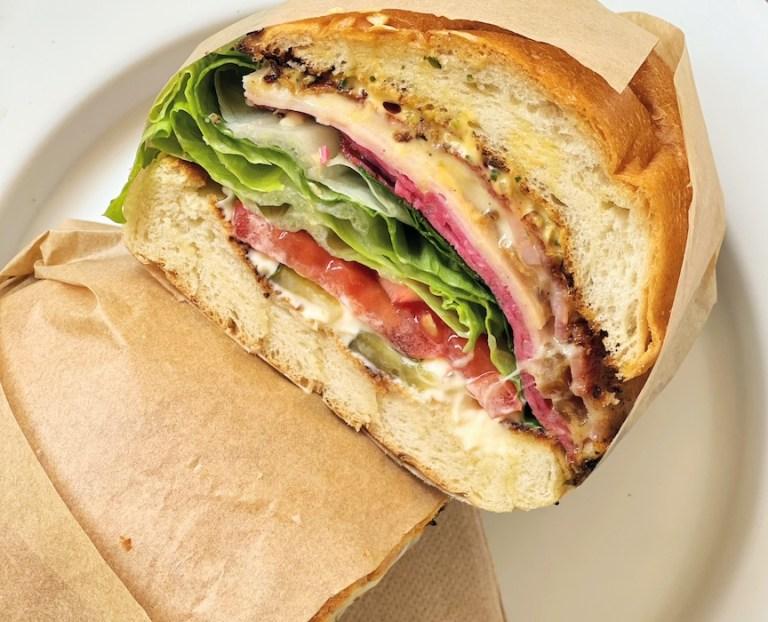 Sandwich at Savata Barcelona