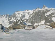 Buildings at Swiss-Italian border