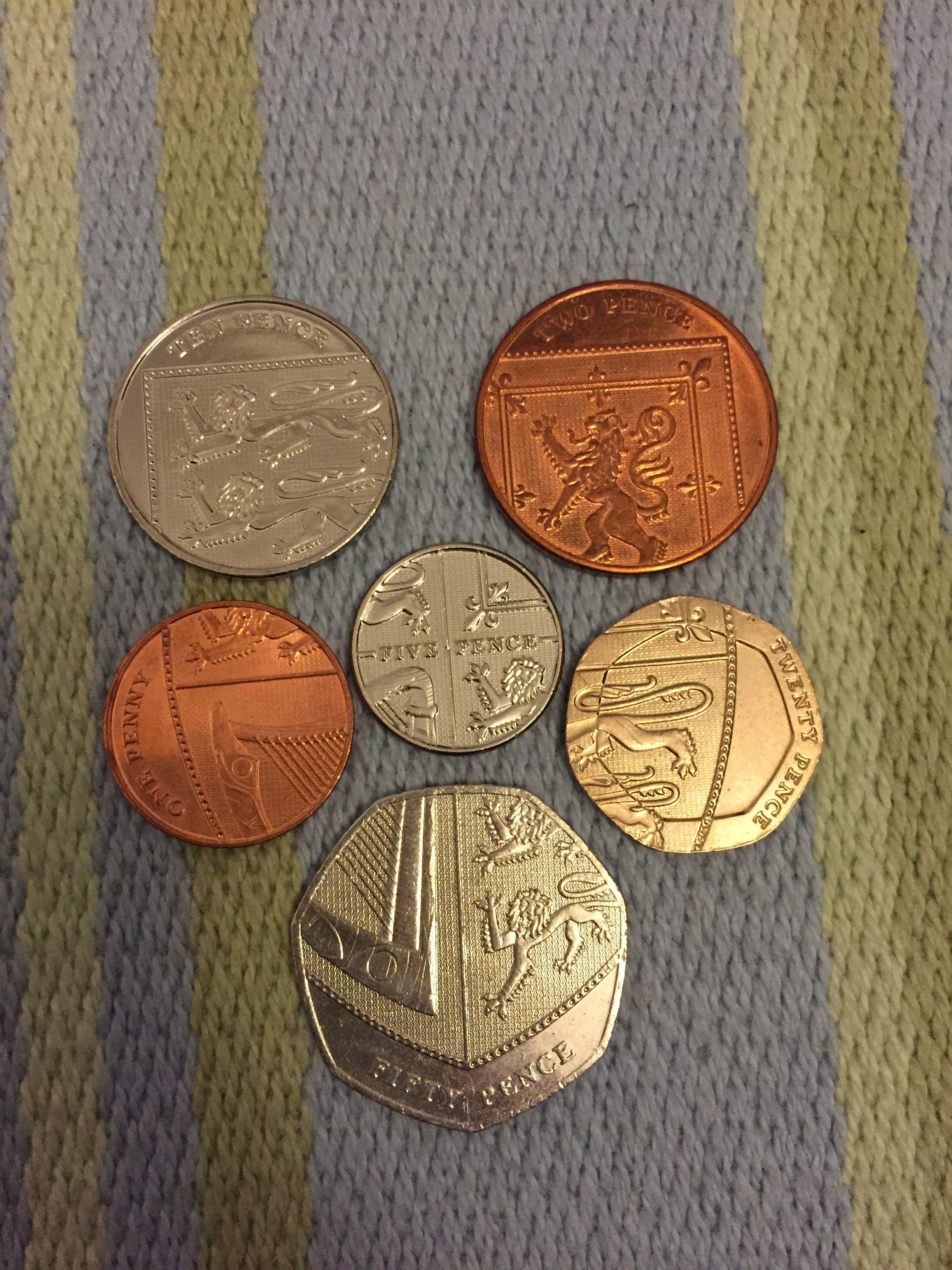 英國硬幣的玄機 – 貪吃喬伊 Foodie – Joy Chung