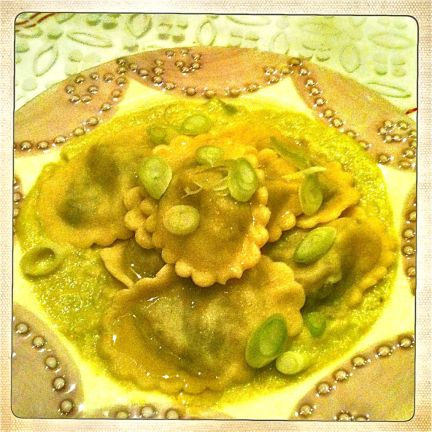 recept zelfgemaakte ravioli met preisaus miss foodie
