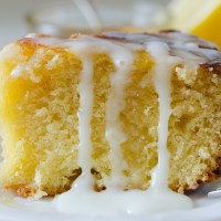 Lemon, Honey and Almond Cake
